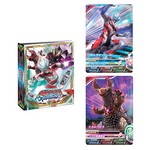 Data Carddass Ultraman Fusion Fight Official 4 Pocket Binder Set [Bandai]