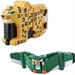 Zyuohger Zyuoh Cube Weapon EX Cube Leopard & Cube Owl Set [Bandai]