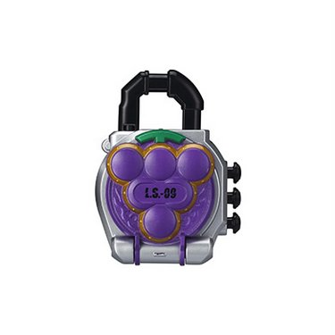 Kamen Rider Gaim Capsule Sound Lock Seed - Grape (Budou) [Bandai]