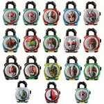 Kamen Rider Gaim Capsule Sound Lock Seed Showa Rider Legend Set of 18 [Bandai]