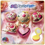 Sailor Moon Henshin Compact Mirror Gashapon Set of 5 [Bandai]