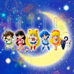 Sailor Moon Swing Series 1 Gashapon Set of 6 [Bandai]