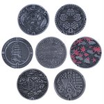 Manhole Cover Collection Vol. 1 Gashapon Set of 7 [Union Creative]
