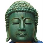 Buddha Latex Rubber Mask (Green) [Ogawa Studios]