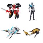 Go-Busters Super Henkei Buster Machine #2 Gashapon Set of 4 [Bandai]