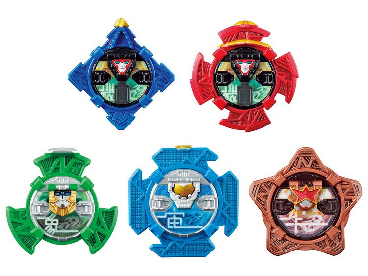 Ninninger DX Real Change - Nin Shuriken 02 Set of 5 [Bandai]