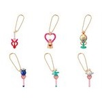 Sailor Moon Diecast Charm Series 3 Gashapon Set of 6 [Bandai]