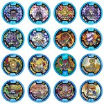 Youkai Watch Youkai Medal Zero Vol. 5 Hissatsuwaza Special Set of 16 [Bandai]