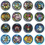 Youkai Watch Youkai Medal Vol. 2 Special Renewal Ver. Set of 16 [Bandai]