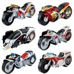 Kamen Rider Drive - Signal Legend Bike GP1 Set of 6 [Bandai]