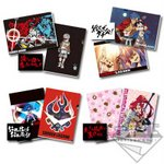 Ichiban Kuji Gurren Lagann Prize G - Clear File Folder & Sticker Set of 4 [Banpresto]