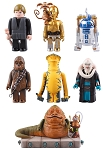 Kubrick Star Wars DX Series 1 Set of 7 [Medicom]