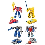 Transformers Block Wars Mini Model Complete Set of 4 [Kabaya]