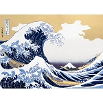 The Great Wave Off Kanagawa Jigsaw Puzzle (600 pcs, 53 x 38 cm) [Beverly]
