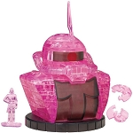 Char's Zaku Crystal Puzzle (45 Pieces) (Gundam) [Beverly]