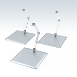 The Simple Stand x3 (for Figures & Models) [Good Smile Company]