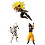 Dragon Ball Super Vs Dragon Ball 08 Partial Set of 3 (Gashapon) [Bandai]