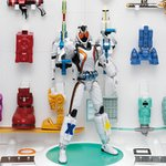 FMCS DX Kamen Rider Fourze Base States with 40 Modules & Stage Set (Damaged Package/No Box) [Bandai]