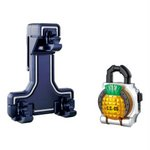 Kamen Rider Gaim DX Lock Seed Holder w/ Pineapple Lock Seed [Bandai]