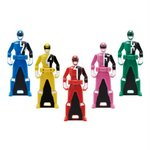 Legend Sentai Series Ranger Key Set - Dekaranger [Bandai]