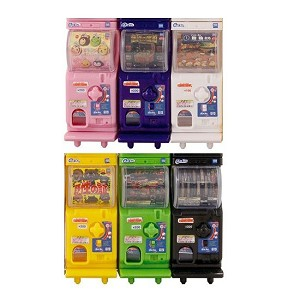 Gacha 2 EZ Miniature 1/12 Scale Capsule Toy Machine Set of 6 (Gashapon) [Takara Tomy A.R.T.S.]