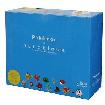 Nanoblock Mini Pokemon Series 01 Set of 12 (NBMPM-01) [Kawada]