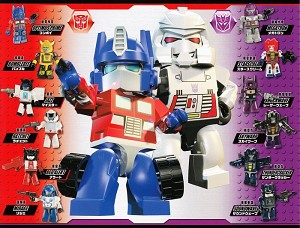 Transformers Kreon Gashapon Set of 12 [Takara Tomy]