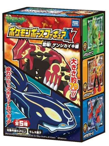 Pokemon Pose Figure XY Toujyo Genshikaiki Ver. Set of 5 [Takara Tomy]