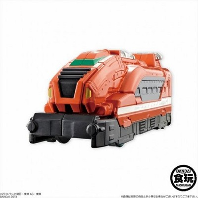 ToQger SG Tokkyu Ressha Part 4 Candy Toy Set of 4 [Bandai]