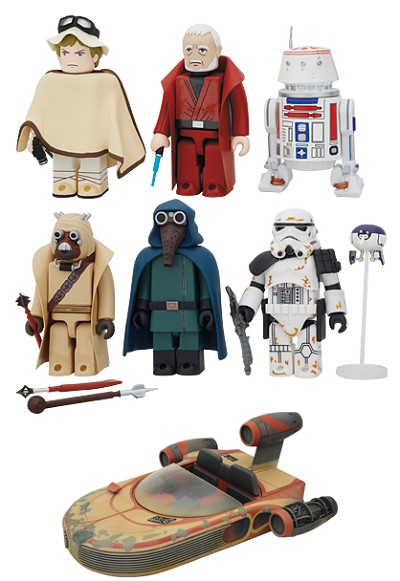 Kubrick Star Wars DX Series 3 Set of 7 [Medicom]